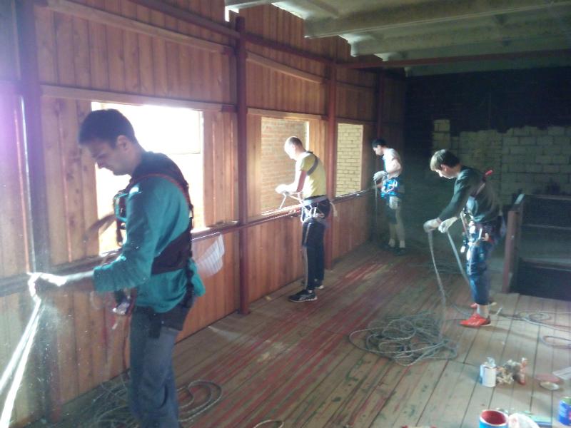 обучение промышленных альпинистов