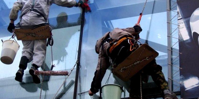Веревочный доступ или промышленный альпинизм?